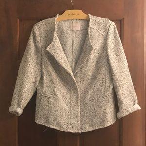 Loft 3/4 sleeve blazer